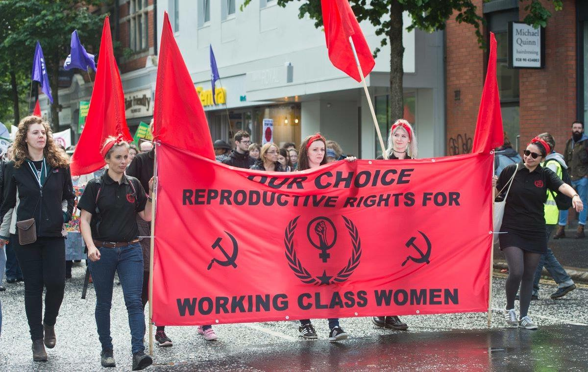 pro-choice hammer and sickle