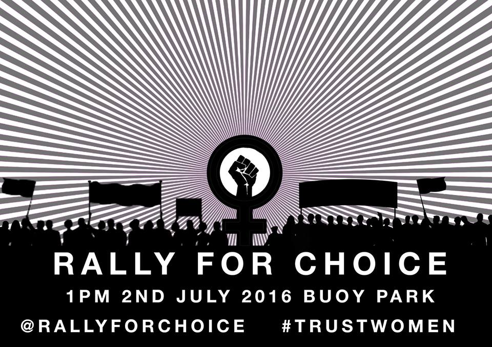 rally for choice